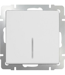 Выключатель одноклавишный с подсветкой
