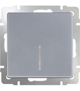 Выключатель одноклавишный проходной с подсветкой