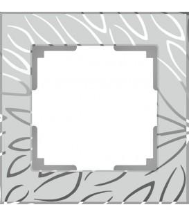 Рамка Werkel 1-я Edel матовое стекло (Веркель Эдель)
