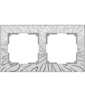 Рамка Werkel 2-я Edel матовое стекло (Веркель Эдель)