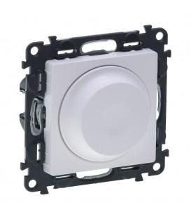 Светорегулятор поворотный, без нейтрали Valena Life (белый)