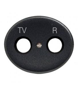 Розетка TV-R без фильтра Tacto (Антрацит)
