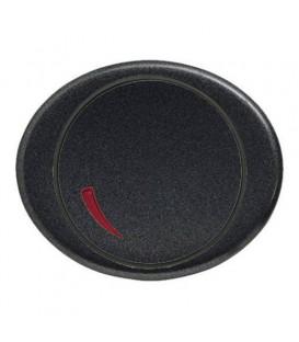 Cветорегулятор поворотный 60 - 400 Вт TACTO антрацит