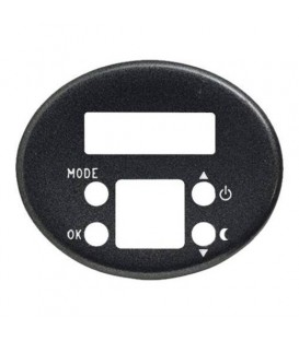 Электронный регулятор теплого пола TACTO антрацит