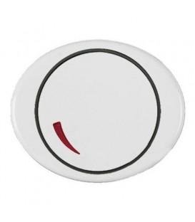 Cветорегулятор поворотный 60 - 600 Вт TACTO Белый