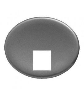 Телефонная розетка 4 контакта Tacto (Серебряный)