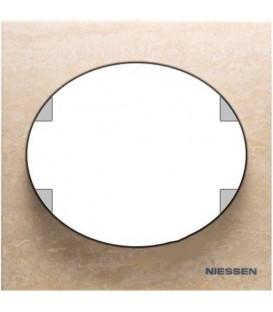 Рамка одноместная ABB Tacto (мрамор)
