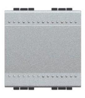 Переключатель промежуточный с подсветкой (цвет янтарный) (из 3-х мест) LivingLight 16 А 250В 2 модуля