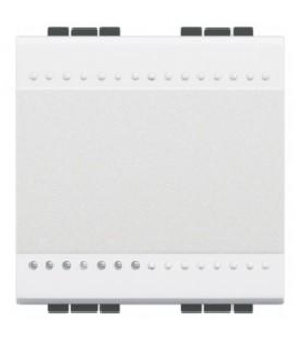 Выключатель с подсветкой (цвет янтарный) LivingLight 16 А 250В 2 модуля
