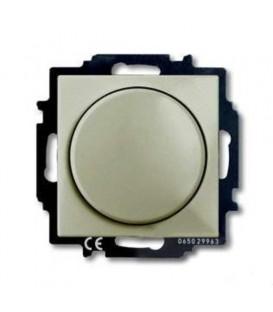 Светорегулятор Busch-Dimmer 60-400 Вт проходной ABB Basic 55, шампань