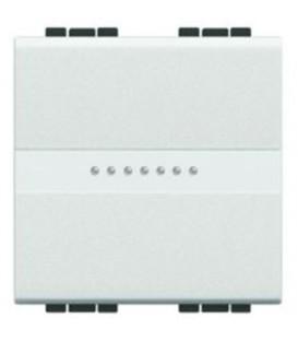 Выключатель LivingLight 16 А 250В, дизайн AXIAL, 2 модуля