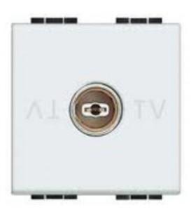 TV+SAT проходная розетка LivingLight, 2 модуля