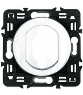 Влагозащищенный выключатель одноклавишный Legrand Celiane 10А с клавишей (белый)