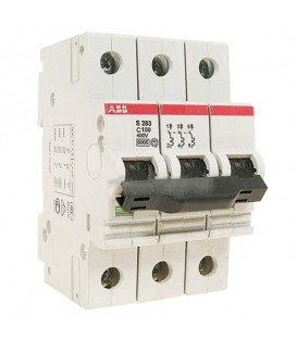 Автоматический выключатель ABB 3-полюсный S283 C100 6kA GHS2830001R0824