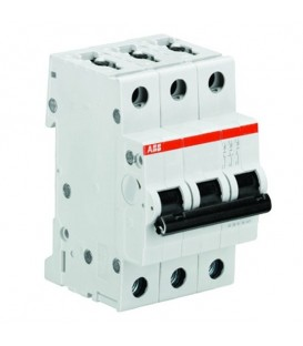 Автоматический выключатель 3-полюсный ABB S203 D6