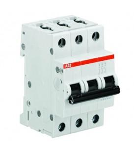 Автоматический выключатель 3-полюсный ABB S203 D63