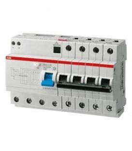 Дифференциальный автомат ABB 4-полюсный DS204 AC-C50/0,03 8мод.