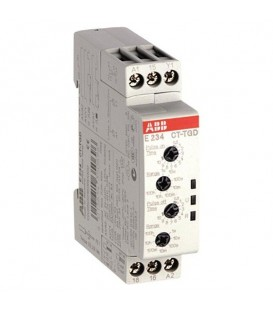 Реле времени ABB CT-TGD.12 (генератор импульсов) 24-48B DC, 24- 240B AC (7 диапазон.0,05с..100ч) 1ПК