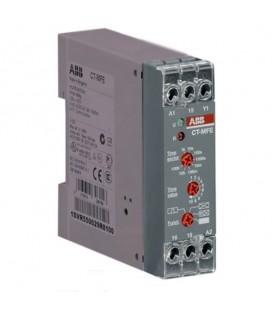 Реле времени CT-MFE многофункц. (6 функций) 24-240В АС/DC, (8 вр еменных диапазонов 0,05с..100ч.) 1П