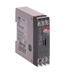 Реле времени CT-ERE (задержка на включ.) 24В AC/DC, 220-240В AC (временной диапазон 3..300с.) 1ПК