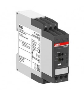 Реле времени CT-ARS.21S (задержка на откл.) 24-240B AC/DC без вспом.напряжения, 0,05с..10мин, 2ПК, в