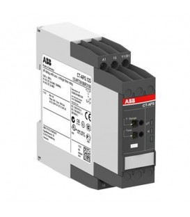 Реле времени CT-APS.12S (задержка на отключ.) 24-240B AC, 24-48B DC, 0.05с..300ч, 1ПК, винтовые клем