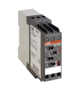Реле контроля CM-MPS.41P без контр нуля, Umin/Umax3х300-380В/420- 500BAC, 2ПК, пружинные клеммы