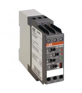 Реле контроля CM-MPS.21P с контр нуля, Umin/Umax3х180-220В/240-280BAC, 2ПК, пружинные клеммы