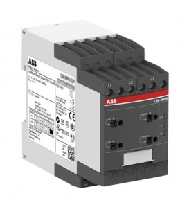 Реле контроля CM-MPN.52S без контр нуля, Umin/Umax3х350-460В/480- 580BAC, 2ПК, винтовые клеммы