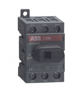 Рубильник ABB 3х полюсный OT40F3 40A