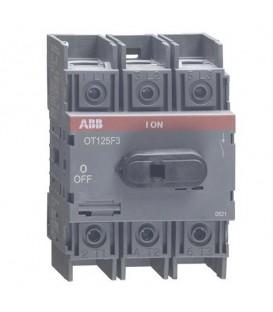 Рубильник ABB 3х полюсный OT125F3 125А