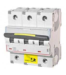 Автоматический выключатель Legrand DX3 3П C80A 10kA/16kA