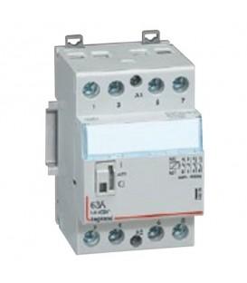 Контактор Legrand CX3 24V 4НО 25А с ручным управлением