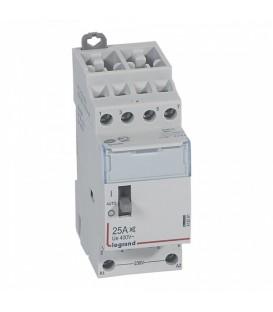 Контактор Legrand CX3 230V 4НО 25А бесшумный с ручным управлением