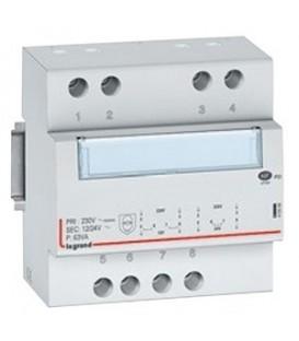 Трансформатор обеспечения безопасности Legrand CX3 230В/8-24В 63Ватт