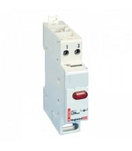 Индикатор модульный Legrand с одной лампой, красный рассеиватель