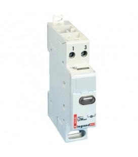 Индикатор модульный Legrand с одной лампой, бесцветный рассеиватель