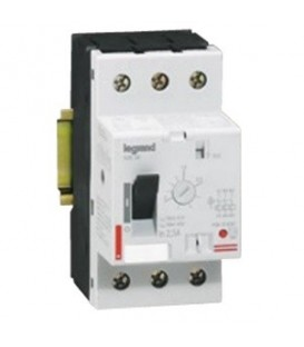 Автомат для защиты электродвигателя Legrand 10A термомагнитный расцепитель