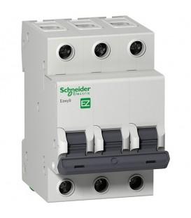 Автоматический выключатель Schneider Electric EASY 9 3П 63А С 4,5кА 400В