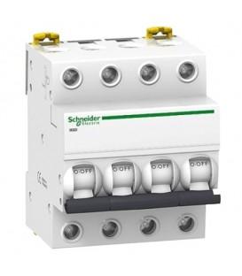 Автоматический выключатель Schneider Electric Acti 9 iK60 4П 10A 6кА C
