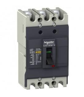Автоматический выключатель Schneider Electric EZC100N 20A 18кА/380В 3П3T