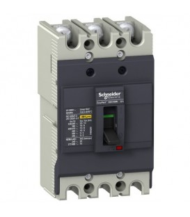 Автоматический выключатель Schneider Electric EZC100N 25A 18 кА/380В 3П3T