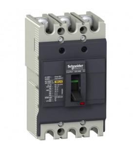 Автоматический выключатель Schneider Electric EZC100N 63A 18 кА/380В 3П3T