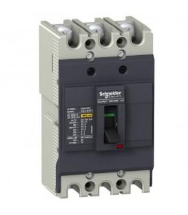 Автоматический выключатель Schneider Electric EZC100N 100A 18 кА/380В 3П3T