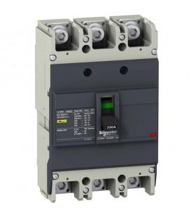Автоматический выключатель Schneider Electric EZC250N 250A 25 кА/400В 3П3Т