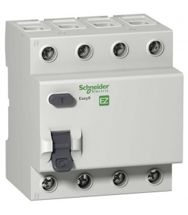 УЗО Easy9 4П 25А 30мА AC 230В Schneider Electric