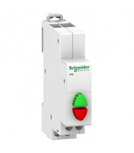 Кнопка управления iPB Acti 9 Schneider Electric красная/зеленая 1НЗ/1НО