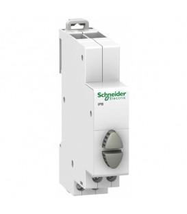 Кнопка управления iPB Acti 9 Schneider Electric серая/серая 1НО/1НО