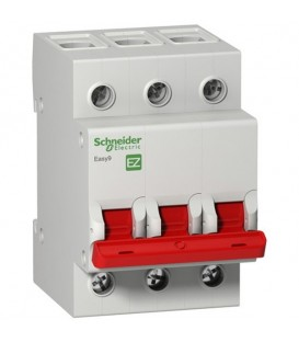 Выключатель нагрузки (модульный рубильник) Easy9 3П 100А 400В Schneider Electric