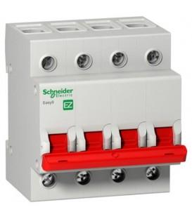 Выключатель нагрузки (модульный рубильник) Easy9 4П 80А 400В Schneider Electric
